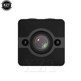 black video recorder Canada - SQ12 HD 1080P Mini Camera Sport Outdoor DV Voice Video Recorder Action Night Vision Mini Camcorder Waterproof Camera Newest