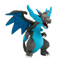 $enCountryForm.capitalKeyWord Australia - Stuffed Animals 10 ''25cm Pikachu Mega Charizard X Plush Toy Animal Soft Stuffed Dolls For Children Gift