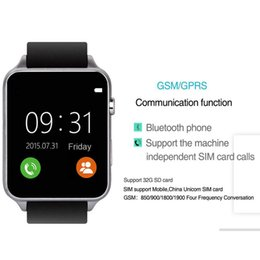 $enCountryForm.capitalKeyWord NZ - 2018 New SIM Card Bluetooth Sports GT88 Smart Watch with Heart Rate Monitor and Wristwatch Phone Mate Independent Smartphone for Android IOS