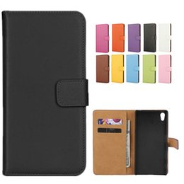 Real stand online shopping - For iphone Real Genuine Leather Wallet Case Cover Credit Card Holder Stand Slot Case For Galaxy S7 S8 PLUS