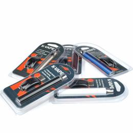 Vape pen blister packs online shopping - K VAPE VV Vape Pen mah Battery With USB Charger Variable Voltage KVAPE Batteries Thread Battery Kit Blister Pack