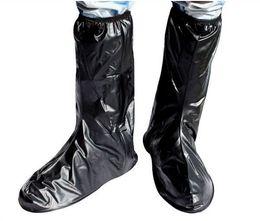 dd9d8bd66a9 Mujer / hombre impermeable antideslizante cubierta de la bota de lluvia ciclismo  montar bicicleta zapatos M-XXL motocicleta antideslizante ropa protectora  ...