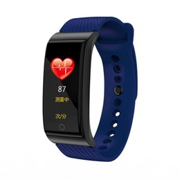 China Fashion sports Smart band Blood pressure oxygen Heart rate tracker Monitor IP 67 waterproof smart bracelet For IOS Android supplier ip bracelet suppliers