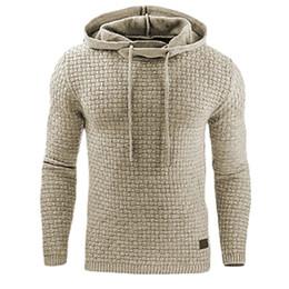 $enCountryForm.capitalKeyWord Canada - Male Sweatshirt Solid Quilted Jacquard Fashion Hoodie Slim Fit Casual Sweatshirt