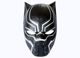 Adult Captain America Mask UK - Black Panther Masks America Captain 3 Civil War Movie Fantastic Masquerade Helmet Mask Halloween Horror Cosplay Party Decor