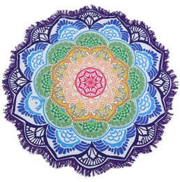 $enCountryForm.capitalKeyWord UK - Mandala Beach Towel Printed Tassel Tapestry Bohemian Serviette Covers Beach Shawl Wrap Yoga Mat Hippy Boho Tablecloth