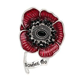 $enCountryForm.capitalKeyWord UK - DreamBell 2018 Hot Vintage Enamel Brooches Crystal Rhinestones Flower Brooch Pins for Women Fashion Jewelry