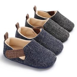 $enCountryForm.capitalKeyWord Australia - New Fashion Kids Baby Boy Soft Sole Shoes Toddler Infant Sneaker Shoes Prewalker Casual Kid Canvas 0-18M