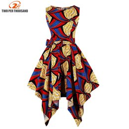 3fbc55f1b99 S-4XL Plus Size African Dresses For Women Africa Clothing Asymmetrical Dress  Middle East Dashiki Dresses Bazin Riche Traditional