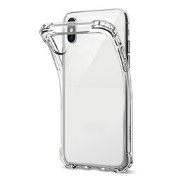 China Ultra-Thin TPU Case For NEW XR XS MAX Clear Shockproof Soft Silicone Transparent Cases 200pcs supplier new tpu case suppliers
