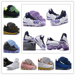 1b5a23fd65f8 2018 Best New XV 15 Equality BHM Graffiti White Purple Flowers Mens  Basketball Shoes 15S Designer Luxury Brand Trainers Sports Sneakers 7-12