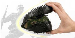 Army Camouflage Shoes Canada - liberation shoes Outdoor wear-resistant mountaineering shoes Men and women military training camouflage shoes canvas rubber shoes.