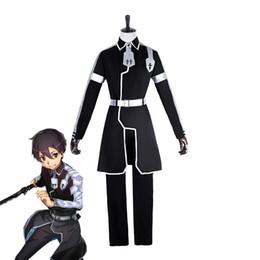 $enCountryForm.capitalKeyWord UK - Japanese Anime Sword Art Online Cosplay Kirito Cosplay Costume Kazuto Kirigaya Full Set Men Cosplay Costumes
