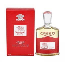 2018 Новый 100ML Creed Viking Eau De Parfum Духи для мужчин с длительным высоким ароматом высокого качества