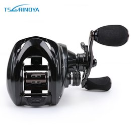 Discount reel bodies - Fishing Reel TSURINOYA Metal Body Large Profile Fishing Baitcasting Reel Left Right Hand Max Drag 10KG Saltwater Bait Ca