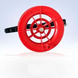 Новая конструкторская катушка Red Wheel Tire Wire Flying Belt Kites Spool Kite String Line Новая ручка для инструментов с ручкой Высокое качество 4hy aa