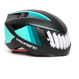 Road Bicycle Safety NZ - Breathable MTB Mountain Bike Helmet Sport Safety Bicycle Riding Integrated Safety Hat Bicycle Road Bike Equipment Men Women