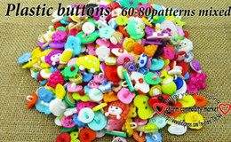$enCountryForm.capitalKeyWord Canada - 200PCS 60-80Pattern mixed kids plastic button for sewing buttons clothes accessories crafts P-200