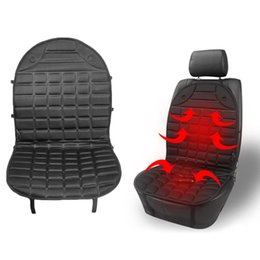 portable car heat 2019 - Car Seat Heated Cover 12V Front Seat Heater Auto Winter Warmer Cushion Portable Automobile Accessories cheap portable ca
