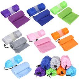 $enCountryForm.capitalKeyWord Canada - 80x130cm Microfiber Gym Towel Sports Swimming Towel Travel Essential With Carry Bag Outdoor Camp Home Sports Towel