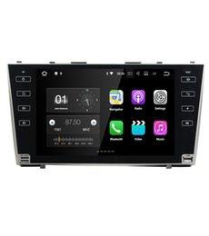 4g mp4 player touch screen online shopping - Full touch button G network Android G car gps navigation for Toyota camry car dvd player car stereo radio gps