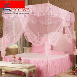 $enCountryForm.capitalKeyWord NZ - Three open door mosquito nets stainless steel floor bracket 1.2 1.5 m 1.8m bed double home court students FREE SHIPPING