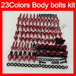 Screw fairingS online shopping - Fairing bolts full screw kit For SUZUKI GSXR600 GSXR750 GSXR K6 GSX R600 R750 Body Nuts screws nut bolt kit Colors