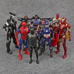 ant man toys 2019 - Captain America Civil War Avengers PVC Action Figures  Iron Man Ant 7c1cb6e1effd