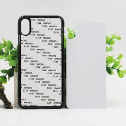 China DIY 2D Sublimation Heat Press PC cover case for Apple iphone X XR XS MAX Galaxy NOTE 9 S9 S9 PLUS J4 2018 J6 2018 J6 prime J4 PLUS 100PCS L suppliers