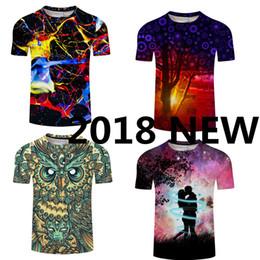 d40fabc88b3 2018 Fashion Summer Owl T-Shirt Men Brand Latest Tops Shirts O-Neck Round  Neck Short-Sleeve T-Shirt Cheap Price Mens Tee