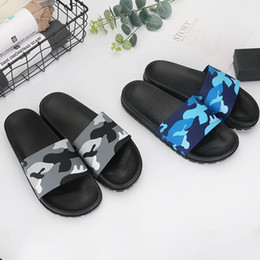 ce58c1c529e Anti Skid Bathroom Flat Sandals For Men Camouflage Slipper Breathable  Summer Beach Babouche Household Hot Sale 14 5yh BB