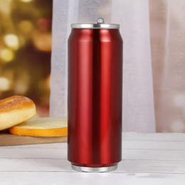 TeapoT shapes online shopping - oz oz oz Cola Shaped Water Bottle Vacumn Coffee Mugs Teapot Thermos Kettles Sport Stainless Steel Tumblers Travel Camping