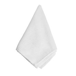 Оптовая 12 Шт. / Лот Ткань Таблица Белый Полиэстер Салфетки 28X28 СМ Белый Свадебный Событие Декор