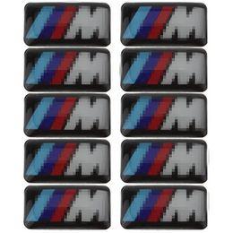 Car Emblem Logos Badges Australia - Car Vehicle Wheel Badge M Sport 3D Emblem Sticker Decals Logo For bmw M Series M1 M3 M5 M6 X1 X3 X5 X6 E34 E36 E6 Car Styling Stickers