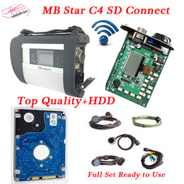 free car diagnostic software 2019 - A++Quality MB Star C4 with 2018.5 HDD Software diagnostic scanner C4 SD Connect full chip car diagnostic tools DHL free