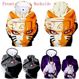 Wholesale naruto coat jacket for sale – custom 3 Styles D Printed Naruto Hoodies Men Long Sleeve Streetwear Jacket Hoodies Sweatshirts Women Pullovers Coat