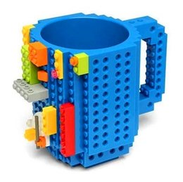 Black Blocks Australia - DIY assembled coffee cup creative mug creative assembly decompression water cup building block mug mug Drinkware