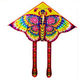 $enCountryForm.capitalKeyWord Australia - free shipping high quality children kite butterfly kite with handle line ripstop bird toy animal windsock flugdrachen