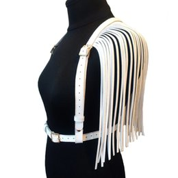 Apparel Accessories Fashion Corset Vest Steampunk Harness Body Garters Faux Leather Bondage Cage Sculpting Harness Waist Belt Straps Suspenders Belt New Varieties Are Introduced One After Another