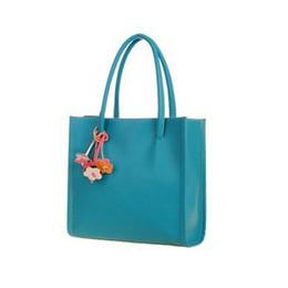 $enCountryForm.capitalKeyWord NZ - Wholesale-Women Handbags Leather Shoulder Bag Candy Color Flowers Totes Ornaments Color Random #2415