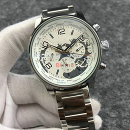 Wholesale Mens Bracelet Mechanical Wristwatches Top designer Qualtiy Stainless Steel Watch Automatic Movement Big dial Sports Self Wind Watches