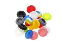 Ingrosso Tappi di protezione in silicone morbido antiscivolo in silicone Tappi in stick di pollice protezioni joystick Custodie per controller PS3 / PS4 / XBOX ONE / XBOX 360
