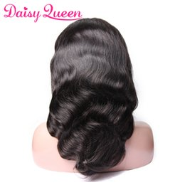 Virgin Brazilian Human Hair Wigs Australia - 8A Pre Plucked Full Lace Wigs Brazilian Body Wave Peruvain Malaysian Virgin Human Hair Wigs For Black Women Natural Hairline With Baby Hair