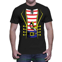 b97ce214e Mens Pirate Costume T shirt Top Tee 100% Cotton Humor Men Crewneck Tee  Shirts
