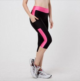 $enCountryForm.capitalKeyWord Australia - 2017 Plus Size Sport Pants Women High Waist Running Workout Gym Clothes Women Fitness Legging Slim Fit Yoga Tights 3 4 Length