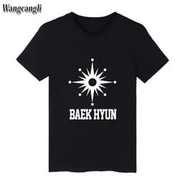 T Shirt Woman Korea Australia - EXO Kpop T-shirts Women Tee Top Summer Short Sleeve Casual Korea Style T Shirt Women Cotton Fans Female Clothes Plus Size