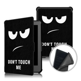 Painting sleePing online shopping - Cartoon Painted PU Leather Stand Inner TPU Case for Kobo Clara Clear HD inch Tablet Auto Sleep Wake Up Smart Cover Stylus