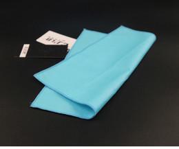 Scarf Square Cotton Australia - Plain Men's cravat scarf Handkerchiefs Cotton Pocket Square Hankies Men Business Square Pockets Hanky Handkerchief Fashion Ties Accessories