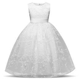 $enCountryForm.capitalKeyWord UK - White Baby Girls Wedding Dress Flower Girl Dresses Formal Long Evening Gown Teens Kids Clothes Tulle Tutu Party Wear Teenage Girl Clothing