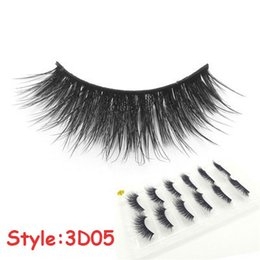 Beauty & Health Yokpn High Quality Fibers Makeup Lashes Natural Bare Makeup Fake Eyelashes Fashion Black Long Crisscross False Eyelashes 5 Pair Fashionable Patterns